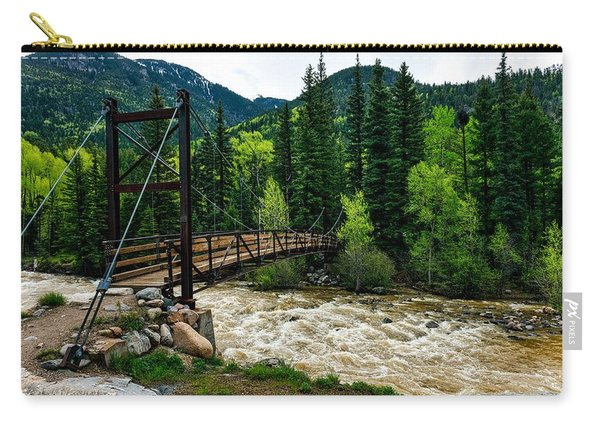 The Rushing Animas River - Colorado Carry-all Pouch