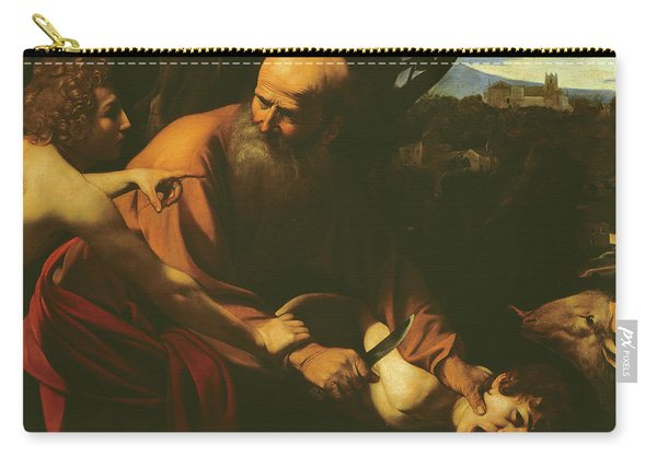 The Sacrifice Of Isaac Carry-all Pouch