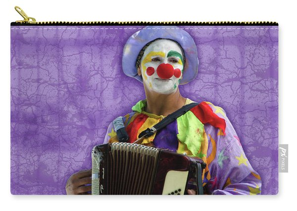 The Sad Clown Carry-all Pouch