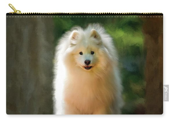 The Samoyed Smile Carry-all Pouch