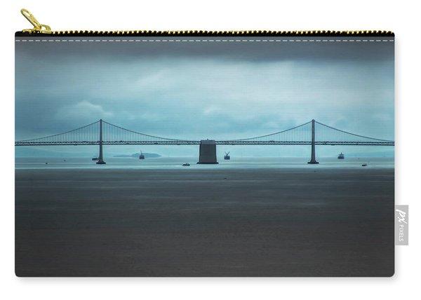 The San Francisco - Oakland Bay Bridge Carry-all Pouch