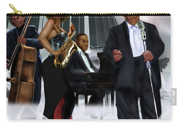 The Saxophone And The Lady Carry-all Pouch
