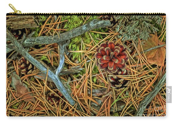 The Scent Of Pine Forest II Carry-all Pouch