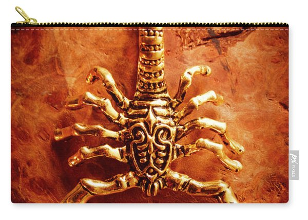 The Scorpion Scarab Carry-all Pouch