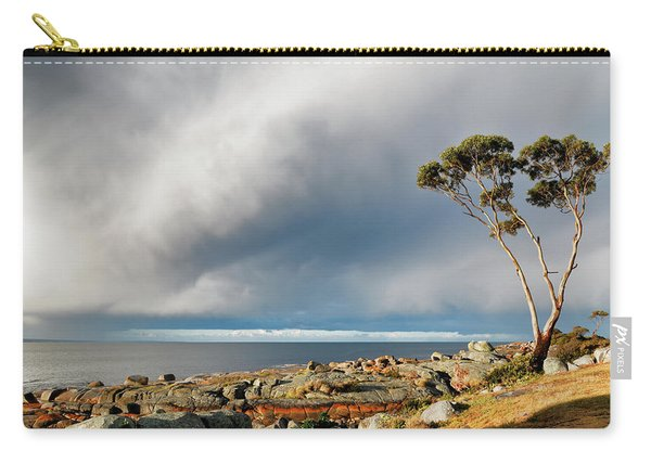 The Sea And The Sky Carry-all Pouch