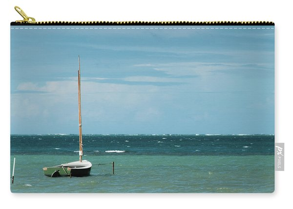 Carry-all Pouch featuring the photograph The Sea Calls My Name by Break The Silhouette