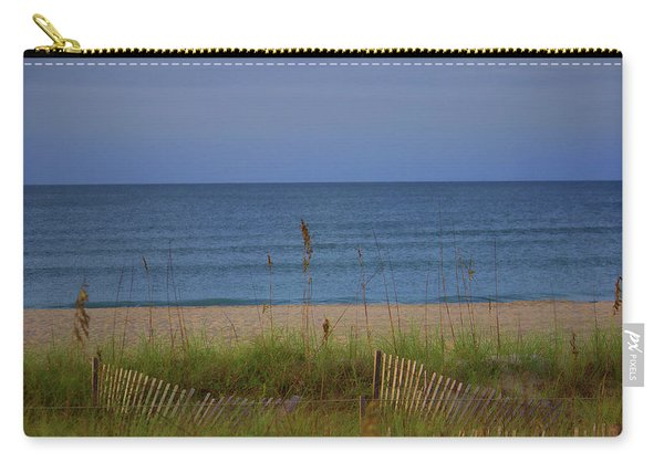 The Sea Shore Line Carry-all Pouch