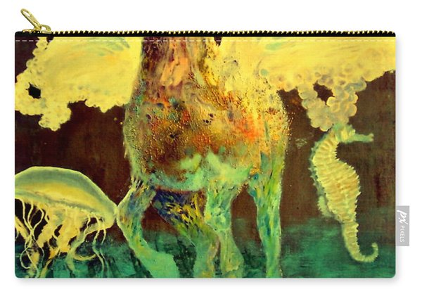 The Seahorse Carry-all Pouch