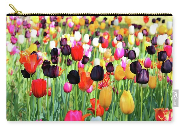 The Season Of Tulips Carry-all Pouch