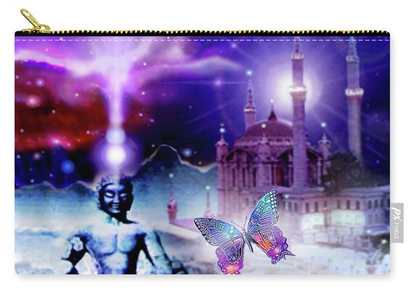 The Serenity Of Wisdom... Carry-all Pouch
