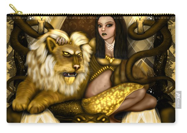 The Serpent Gateway Fantasy Art Carry-all Pouch