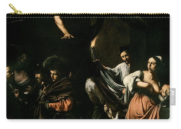The Seven Works Of Mercy Carry-all Pouch