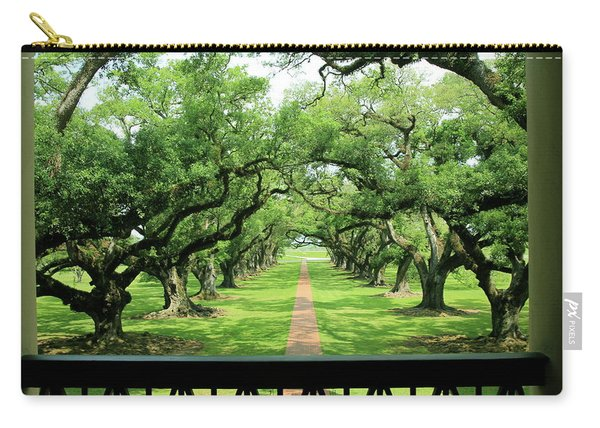 The Shade Of The Oak Tree Carry-all Pouch