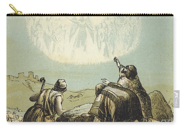 The Shepherds In The Field Carry-all Pouch