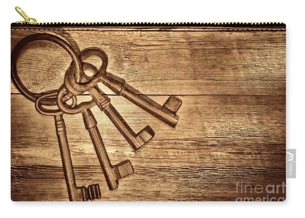The Sheriff Jail Keys Carry-all Pouch