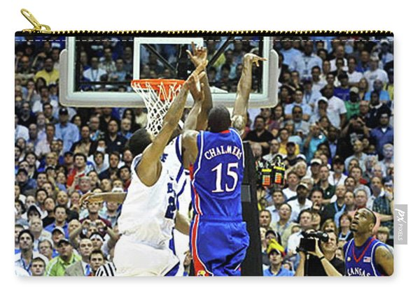 The Shot, 3.1 Seconds, Mario Chalmers Magic, Kansas Basketball 2008 Ncaa Championship Carry-all Pouch