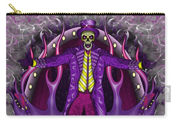 Carry-all Pouch featuring the painting The Show Stopper by Raphael Lopez