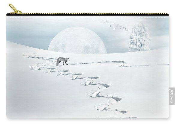 The Silver Fox Carry-all Pouch