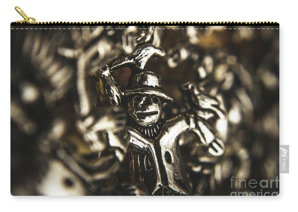 The Silver Strawman Carry-all Pouch