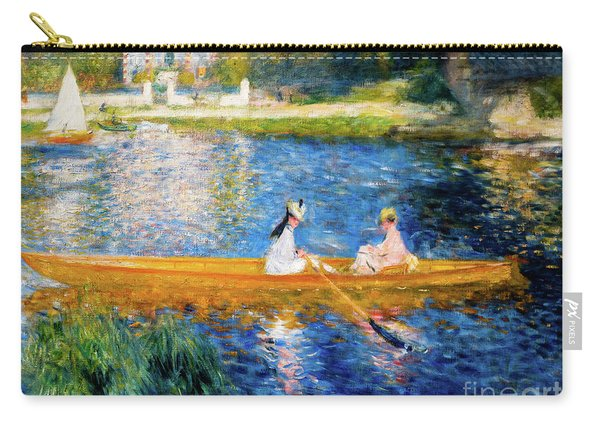 Renoir Boating On The Seine Carry-all Pouch