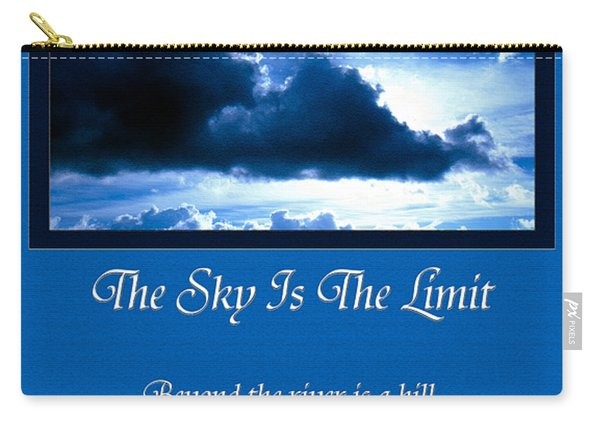 The Sky Is The Limit Carry-all Pouch