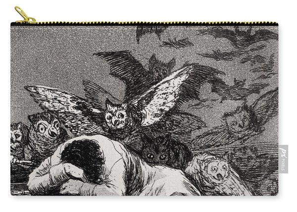 The Sleep Of Reason Produces Monsters Carry-all Pouch