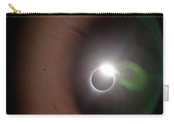 The Solar Iris Of An Eclipse Carry-all Pouch
