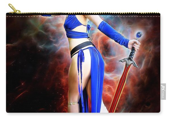 The Sorceress And The Sword Carry-all Pouch