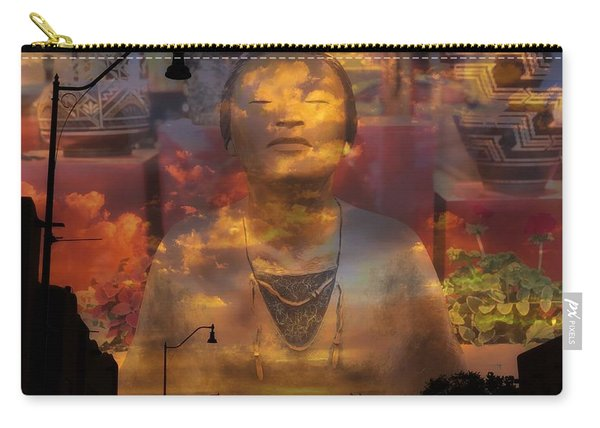 The Soul Of Santa Fe Carry-all Pouch