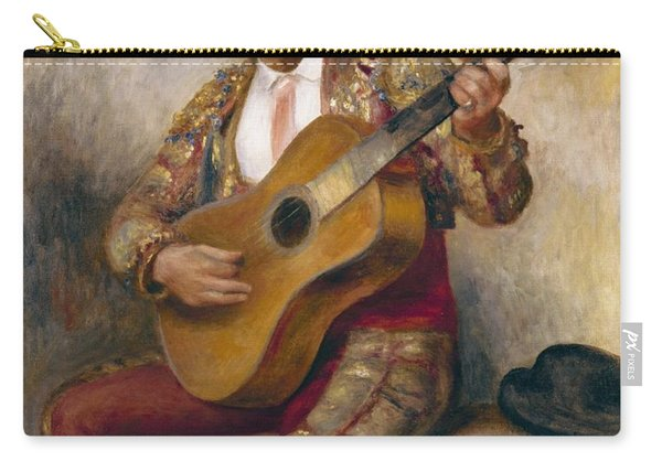 The Spanish Guitarist Carry-all Pouch