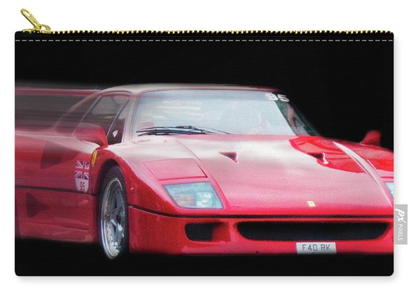 The Speed Of A Ferrari Carry-all Pouch