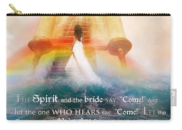 The Spirit And The Bride Carry-all Pouch