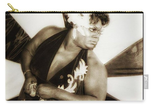 Carry-all Pouch featuring the photograph The Spirit Club. Another Tenderloin by Mr Photojimsf