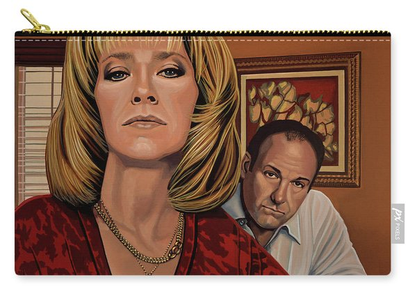 The Sopranos Painting Carry-all Pouch