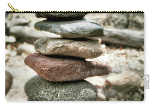 The Stack - Rock Cairn At Buddha Beach - Sedona Carry-all Pouch