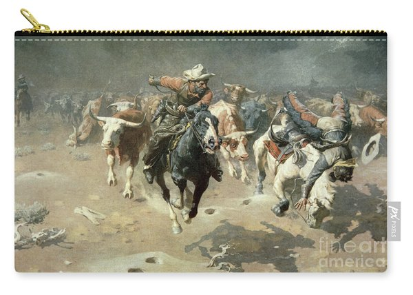 The Stampede, 1912 Carry-all Pouch