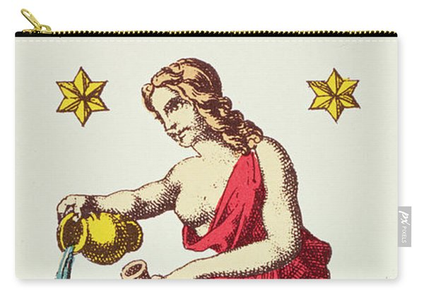 The Star  Tarot Card Carry-all Pouch