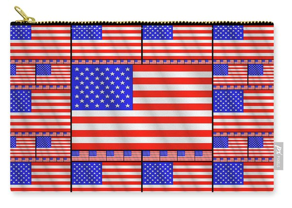 The Stars And Stripes 2 Carry-all Pouch