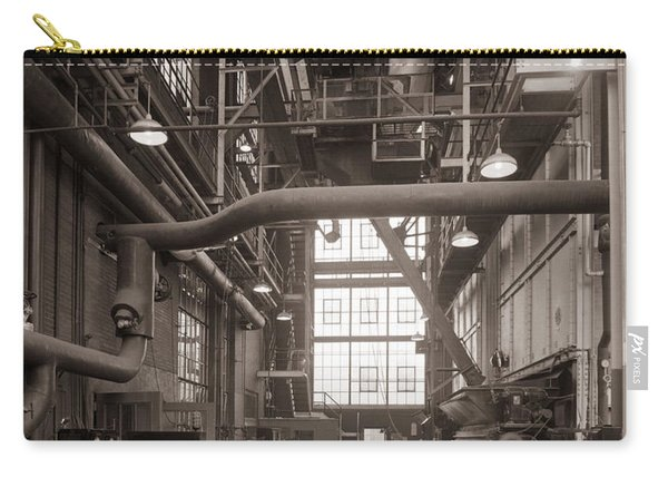 The Stegmaier Brewery Boiler Room Wilkes Barre Pennsylvania 1930's Carry-all Pouch