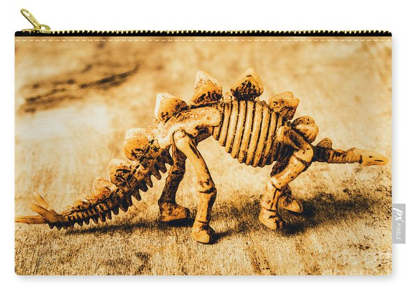 The Stegosaurus Art In Form Carry-all Pouch
