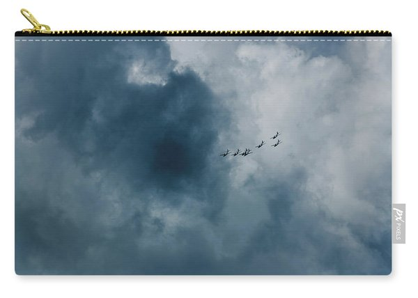 The Storm And Aircrafts Carry-all Pouch