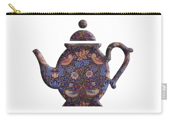 The Strawberry Thief Pattern Teapot Carry-all Pouch