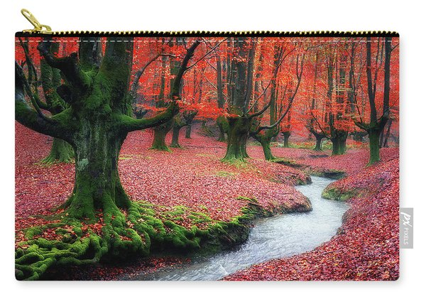 The Stream Of Life Carry-all Pouch