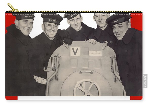 The Sullivan Brothers - They Did Their Part Carry-all Pouch