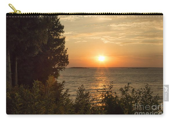 The Sun Is Setting Carry-all Pouch