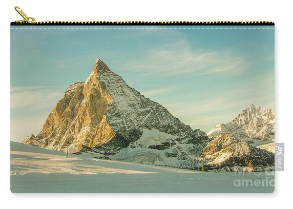 The Sun Sets Over The Matterhorn Carry-all Pouch