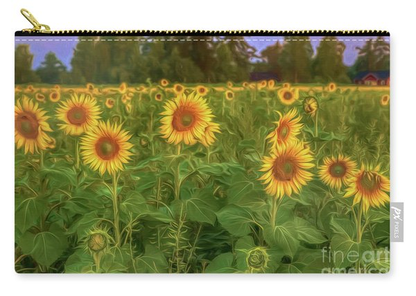 The Sunniest Field Carry-all Pouch