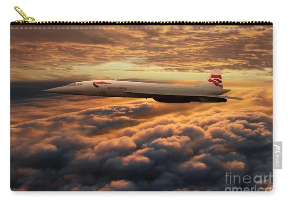 The Supersonic Concorde Carry-all Pouch