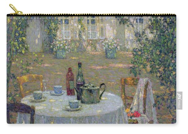 The Table In The Sun In The Garden Carry-all Pouch