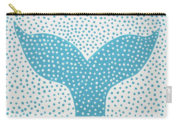 The Tail Of The Dotted Whale Carry-all Pouch